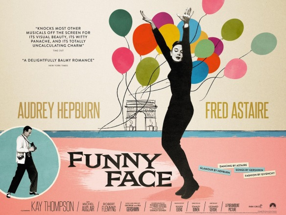 Image result for funny face 1957 poster