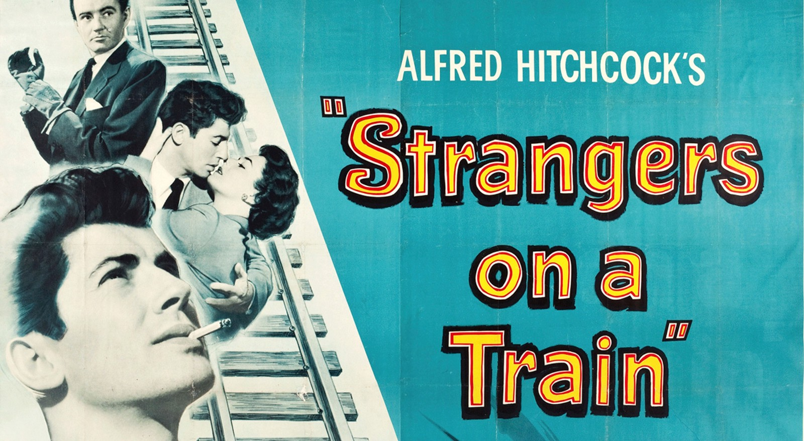 """Image result for Strangers on a Train"""" (1951)"""